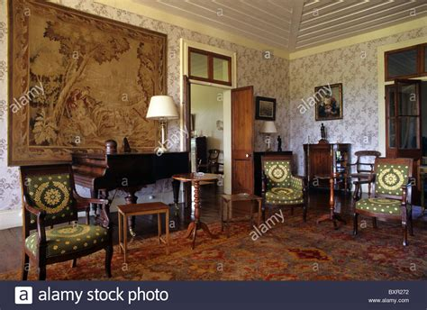 the living room eau salon living room or interior of riche en eau colonial sugar stock photo royalty free image