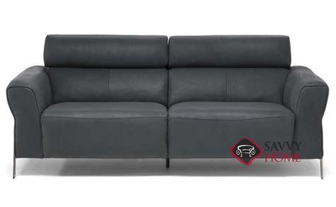 neto leather studio sofa by natuzzi is fully customizable