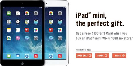free printable gift certificates for ipad radio shack free 100 gift card and 60 holiday cash with