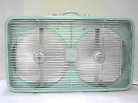 box window fan sears kenmore vintage window box fan 3 speeds 10