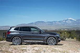 Bmw X3 Suv All New 2018 Bmw X3 Looks Familiar But Has More Tech