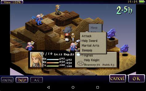 tactics android tactics un chef d œuvre du rpg tactique est disponible sur android frandroid