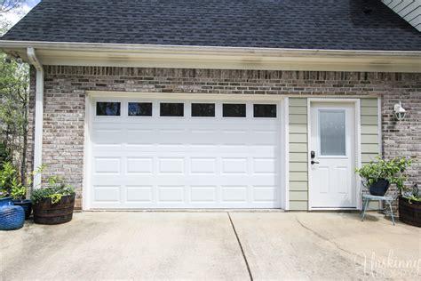 the garage door dilemma unskinny boppy