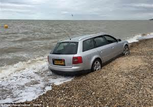 Park Place Audi Audi A6 Swallowed By The Sea After Owner Left It On A
