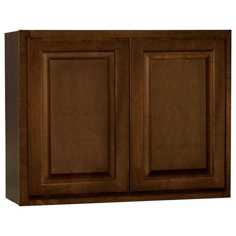 home depot cognac cabinets hton bay 18x84x24 in pantry cabinet in cognac kp1884