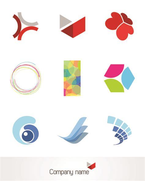 free design creative 3d logo design vector set 01 vector logo free