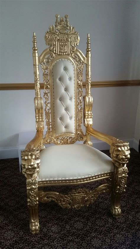 secondhand prop shop thrones  wedding chairs crown