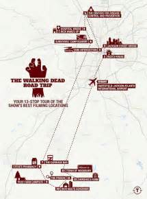 tv location maps walking dead map