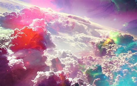 wallpaper hd art colorful fantasy clouds art wallpaper