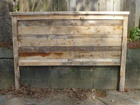 rustic king size headboard pallet farmhouse style headboards king size by