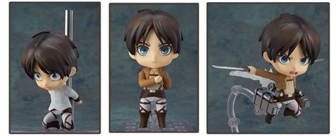 Nendoroid Attack On Titan Eren Yeager 9 attack on titan figures to sink your titanic teeth into
