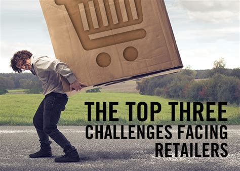 challenges facing the retail industry the top three challenges facing retailers