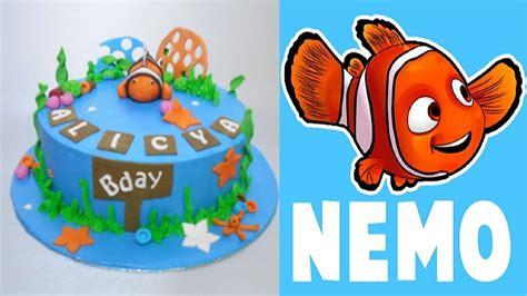 Cober Stopl Nmax Nemo finding nemo cake how to make