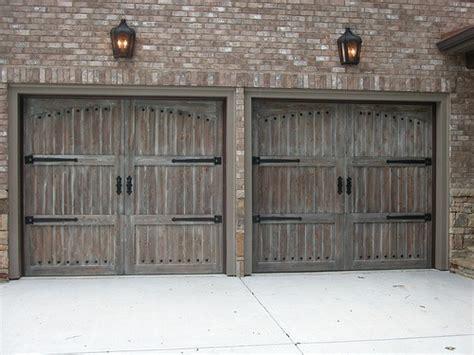 rustic doors garage doors