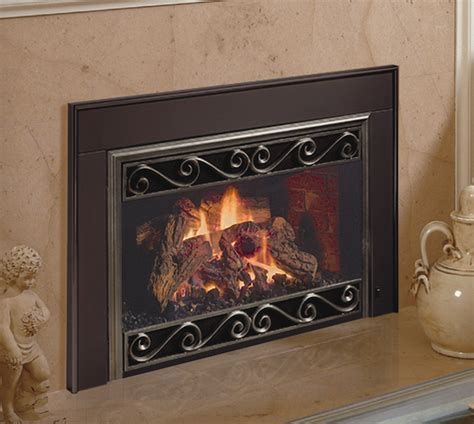mendota d series gas fireplace inserts country stove