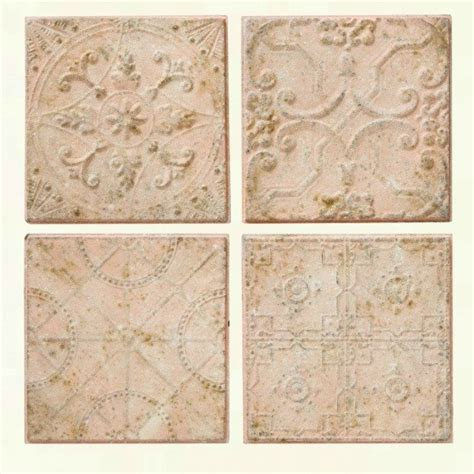 embossed ceiling tiles embossed tin ceiling tile wall decor set of 4 antique farmhouse