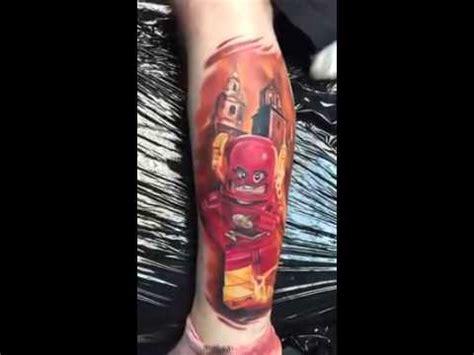 flash tattoo use lego flash tattoo by max pniewski at southmead tattoo