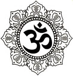 Lotus With Om Lotus Om