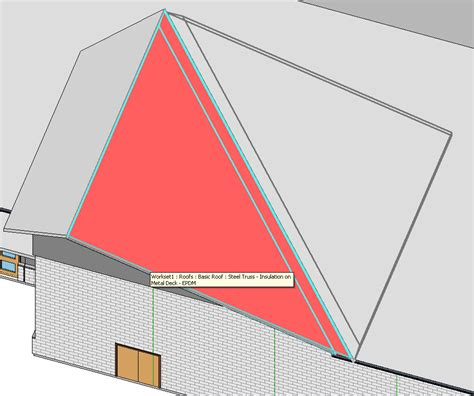 Triangle Shaped Roof Revitcity Triangular Roof With Single Slope