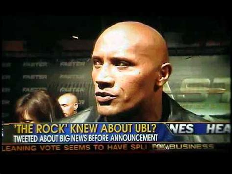 did the rock dwayne johnson died how did dwayne the rock johnson know of bin laden s