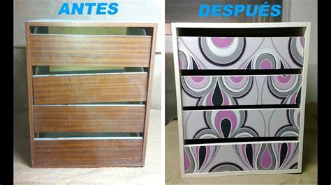 decorar un mueble con papel pintado c 243 mo decorar un mueble con papel pintado paso a paso