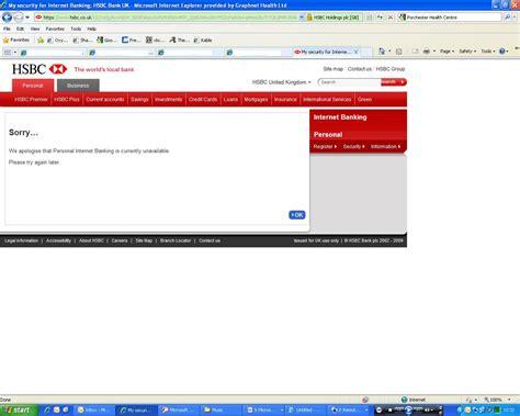 hsbc bank accounts uk hsbc uk banking personal account log on