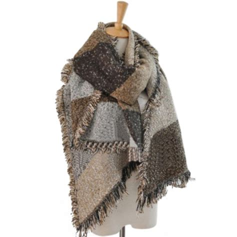 Hm Scarf Scarves Pashmina Besar s winter thick warm wool pashmina stole scarves scarf shawl wraps in scarves from
