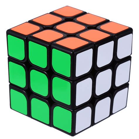 Rubik 3x3 White Base Rounded Anti Pop Out Poping Ori Yong Jun yj 3x3 4x4 ultra smooth magic cube speed professional rubik cubes puzzle educational toys