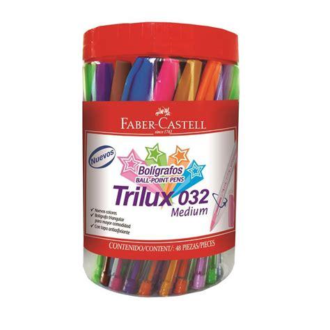 Cat Acrylic Faber Castel pix unica folosinta trilux 032m borcan plastic 48 buc div