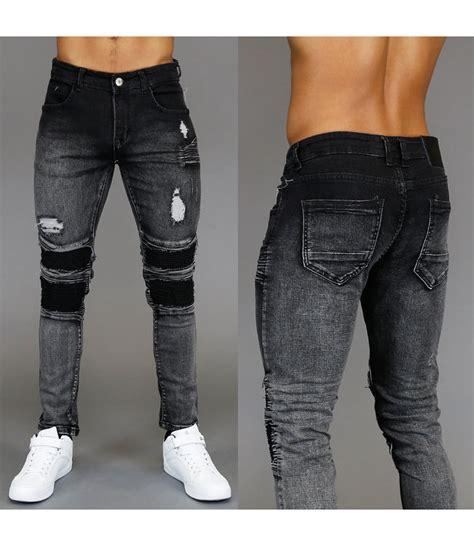 zwarte jeans met scheuren oyw agbc