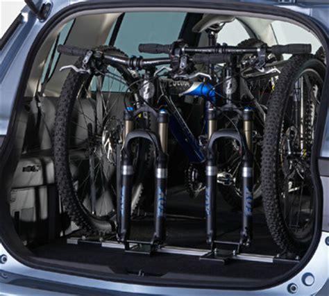 portabici interno per auto accessori mazda5