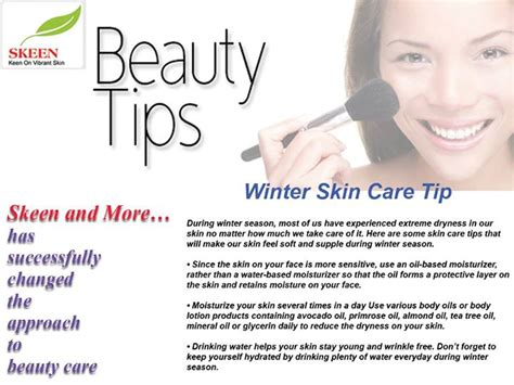 7 Ways To Care For Skin In Winter by Tips Winter Skin Care Skeen More Skeen More