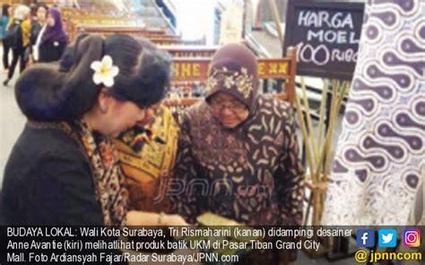 Risma Batik risma kepincut batik pasar tiban jpnn