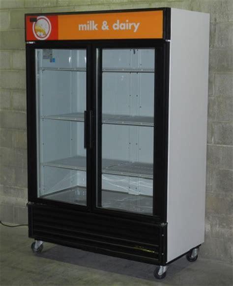 Glass Door Cooler Used Used Two Glass Door Display Cooler Used 2 Glass Door Display Cooler Used Glass Door