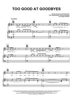 download mp3 free too good at goodbyes print and download sad song sheet music by we the kings