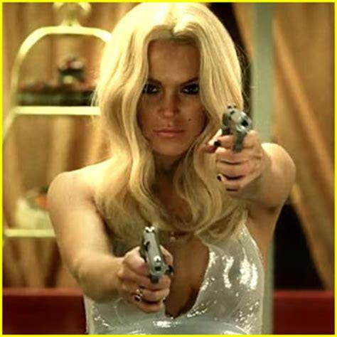 Lindsay Lohan Will Shoot The Paparazzi by Lindsay Lohan Guns Paparazzi In New Trailer Lindsay