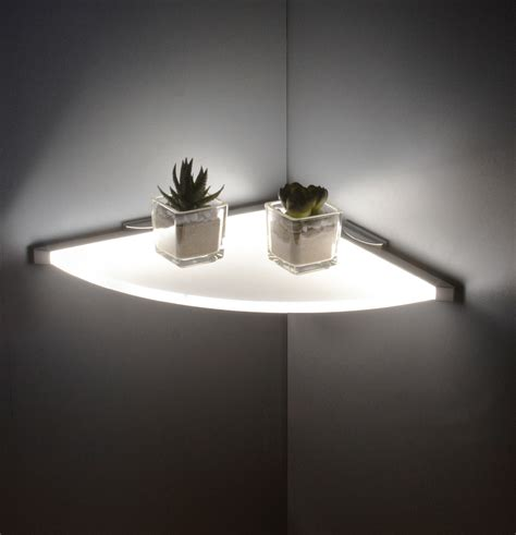 floating shelves with lights this shelf has lots of uses and will proudly show off your