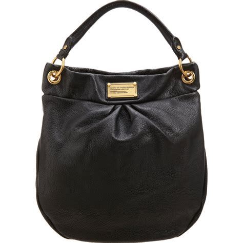 Classic In Black In Marc By Marc Satin Pumps by Marc By Marc Classic Q Hillier Hobo Bag In Black