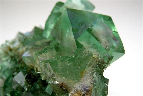 Green Brazil Fluorite fluorite on matrix mineralien und kristalle