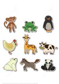 printable paper animals printable stickers with animals free printable