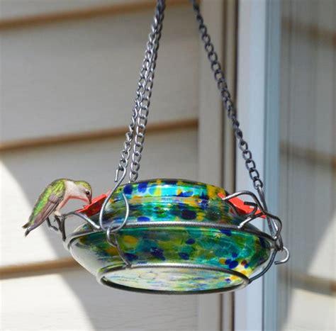 natures  garden top fill solar powered led hummingbird