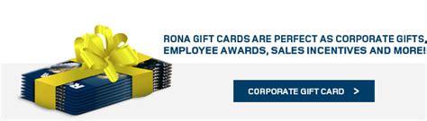 Rona Gift Card - rona gift cards