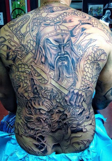 tattoo guan gong guan yu body modification pinterest guan yu tattoo