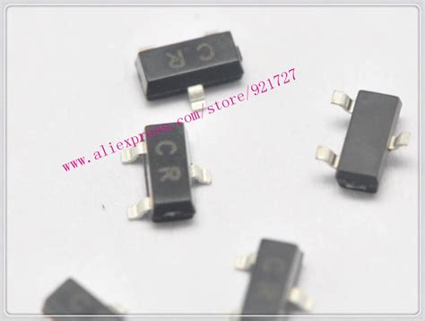 new smd transistor 2sc945 c945 cr 0 15a 50v npn sot23 40pieces in transistors from electronic