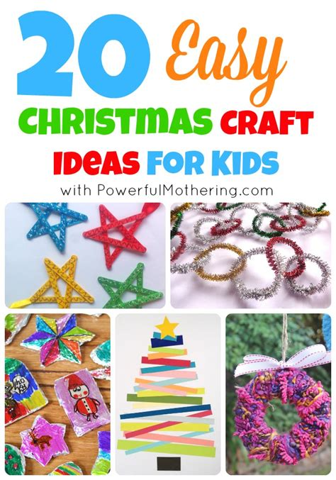 20 easy craft ideas for