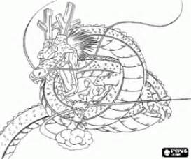 kolorowanki dragon ball dragonball malowanki 4