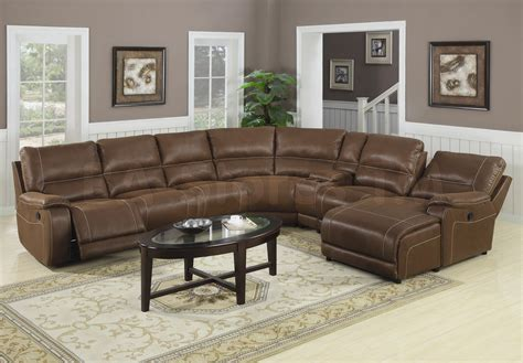 Leather Reclining Sectional Sofa With Chaise Leather Sectional Sofa With Recliner And Chaise Teachfamilies Org