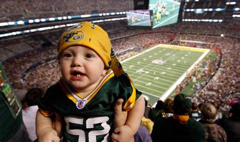 nfl newborn fan oh the nfl is now recruiting babies as