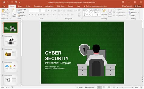best cyber security backgrounds for presentations