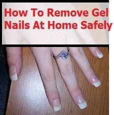 how to remove gel nails at home the safe method